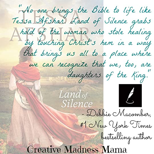Land of Silence by Tessa Afshar #ChristianHistorical #BiblicalFiction is a recommended read from Debbie Macomber