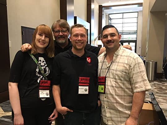 Seton Hill students & alums were at WHC 16, and spending time with them was awesome. Sara Tantlinger, DK Godard, Cory Langille!
