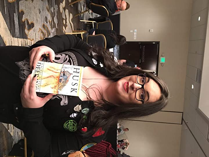 I really enjoyed Rachel Deering at this convention -- her book Husk is impressive. She signed it with a reference to my