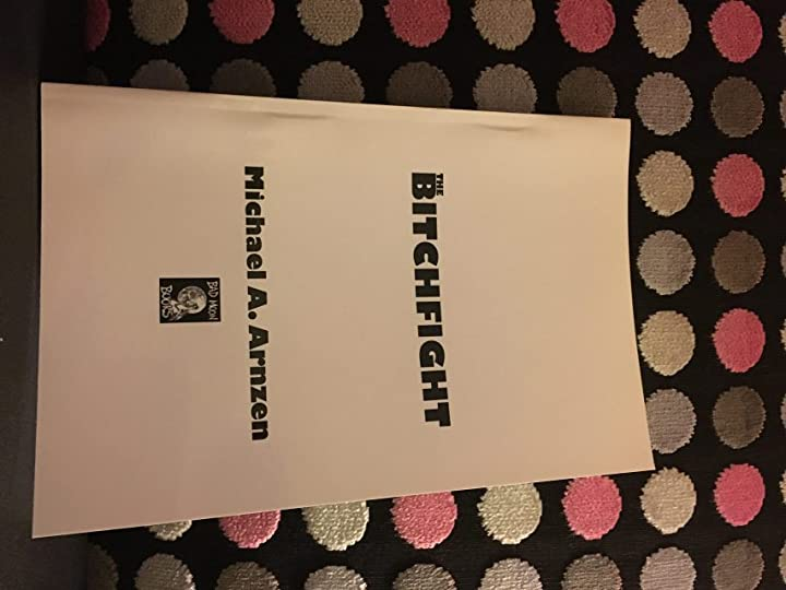 Roy Robbins gave me these rare galleys of The Bitchfight. I held a giveaway (