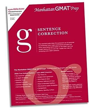 Sentence Correction GMAT Preparation Guide