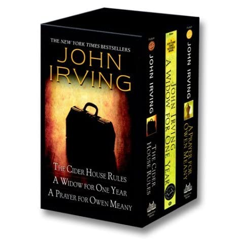 John Irving box set: The Cider House Rules / A Widow for One Year