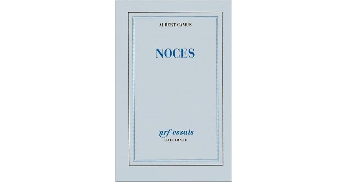 Noces By Albert Camus