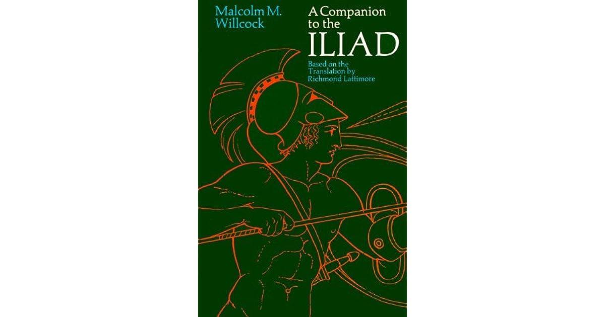 Iliad Lattimore Ebook