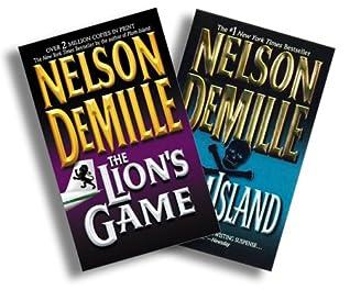 Nelson De Mille Classics Three Book Set [The Lion's Game, Plum Island, The Charm School]