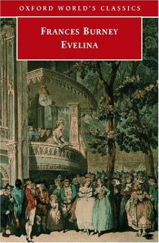 Evelina book cover