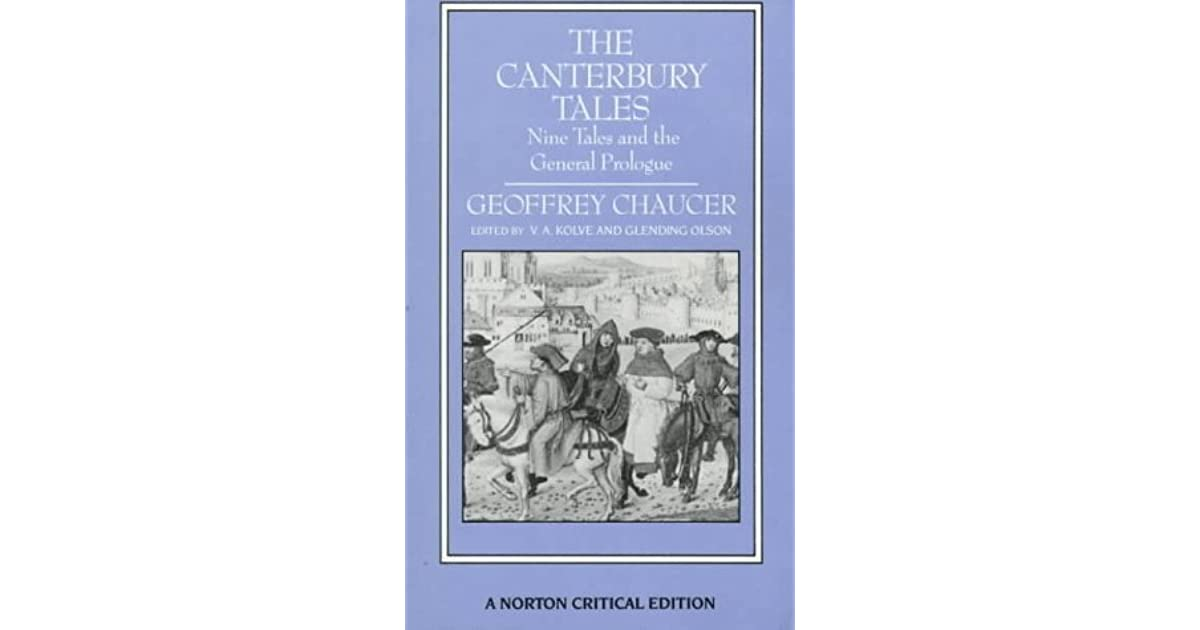 general prologue canterbury tales The canterbury tales is a book of stories written by the tales are: • the general prologue • the knight's tale • the miller's prologue and tale • the.