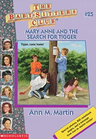 Mary Anne and the Search for Tigger by Ann M  Martin