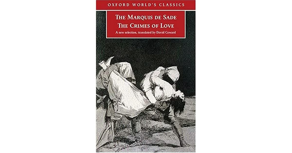 marques de sade essay His grandfather, gaspard françois de sade, was the first to use marquis occasionally, he was the marquis de sade, but is identified in documents as the marquis de.