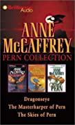 Anne McCaffrey Pern Collection: Dragonseye, the Masterharper of Pern, the Skies of Pern