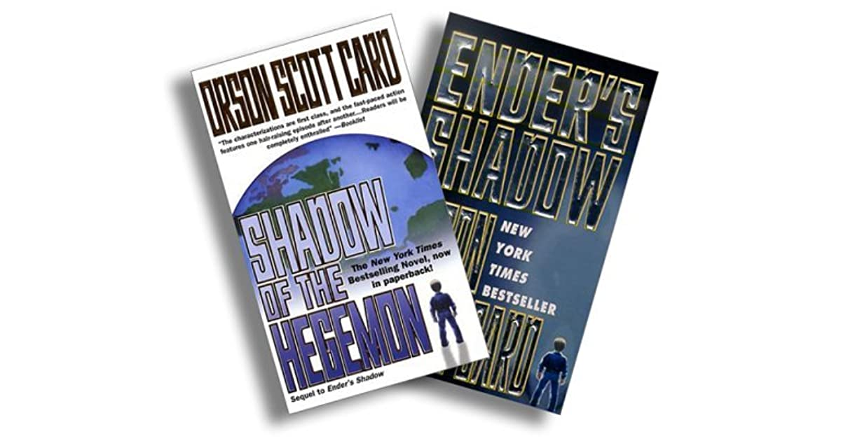 Shadow Two Book Set Enders Shadow 1 2 By Orson Scott Card