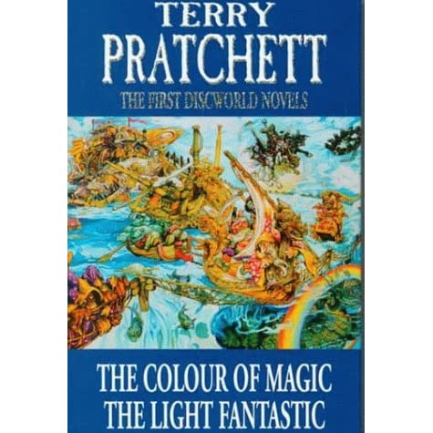 the first discworld novels the colour of magic and the light fantastic by terry pratchett - The Color Of Magic Book
