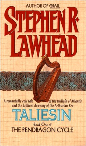 "Book cover of ""Taliesin"" by Stephen R. Lawhead"