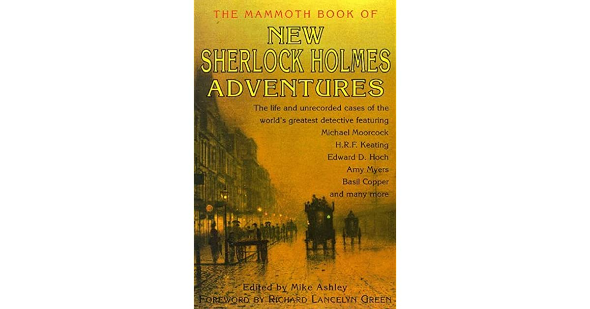 The mammoth book of new sherlock holmes adventures by mike ashley solutioingenieria Gallery