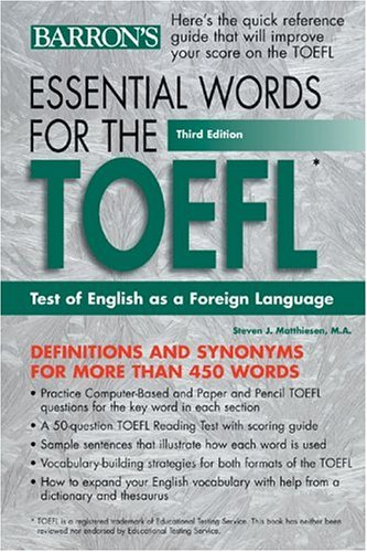 Essential Words for the TOEFL - facebook com LinguaLIB
