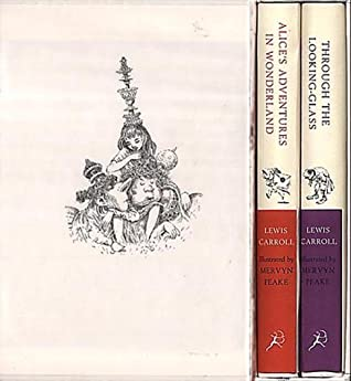Lewis Carroll Slipcase: Alice's Adventures in Wonderland and Through the Looking-Glass