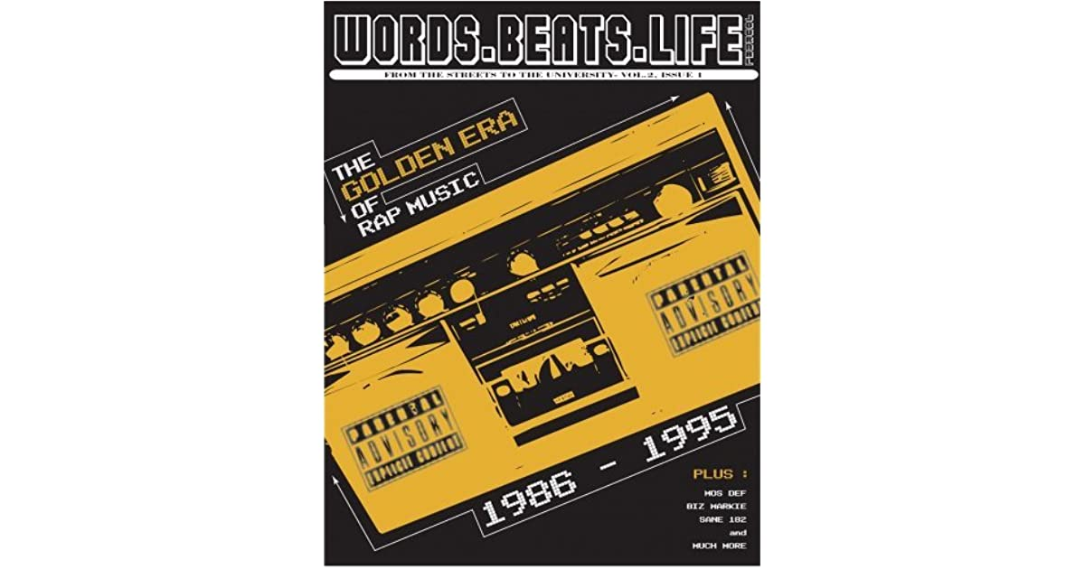 Words  Beats  Life  Global Journal Of Hip Hop Culture by Mark