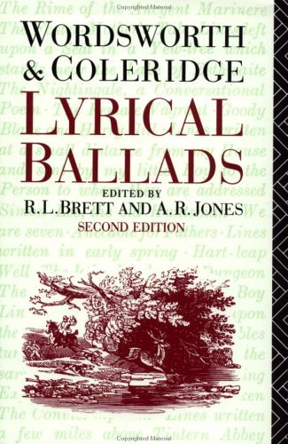 Lyrical Ballads William Wordsworth and S