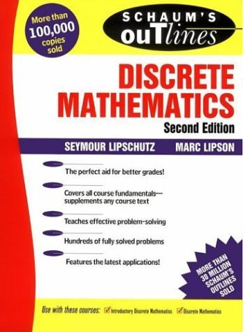 Outline of theory and problems of discrete mathematics