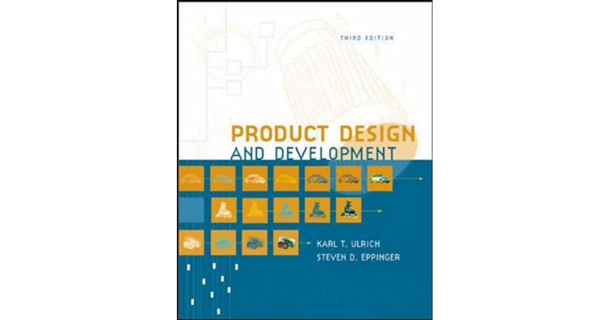 Ulrich pdf and eppinger product and development design by