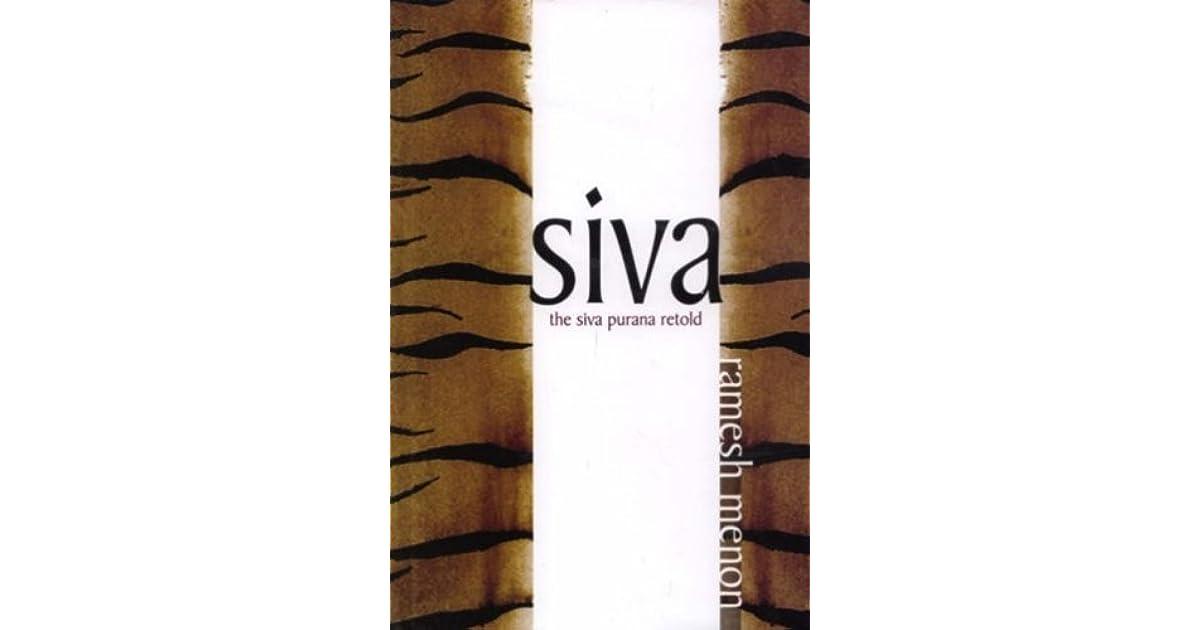 Siva The Siva Purana Retold by Ramesh Menon at Vedic Books