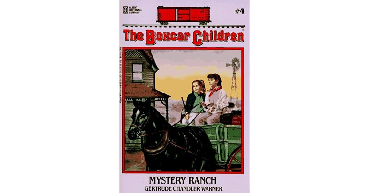 Boxcar Children Book Cover : Mystery ranch by gertrude chandler warner