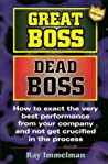 Great Boss, Dead Boss by Ray Immelman