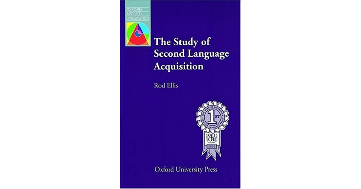 Language rod ellis acquisition study the pdf second of