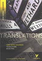 Translations, Brian Friel. Notes by John Brannigan