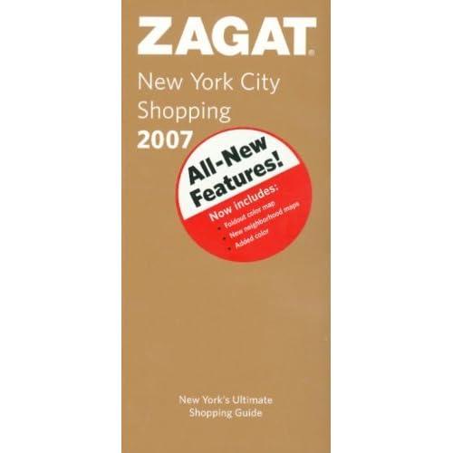 Zagat New York City Shopping [With Foldout Map] by Zagat Survey on