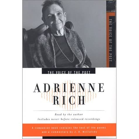 a comprehensive analysis on the lines of living in sin by adrienne rich Living in sin shows a woman's life without rhyme in four meaningful images and as the tone changes she sees the relationship/marriage she expected in twenty-one love poems by adrienne rich, each poem helps us understand her life we as the readers get a sneak peak at the struggles she.