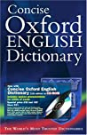 Concise Oxford English Dictionary with CDROM