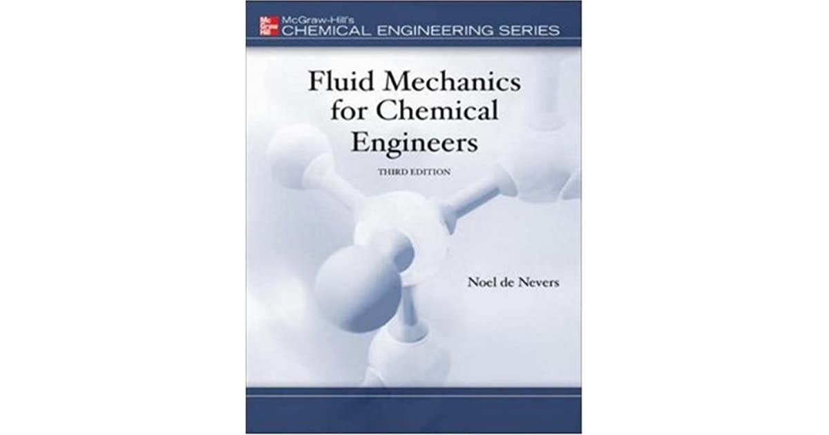 Fluid Mechanics For Chemical Engineers Noel De Nevers Pdf