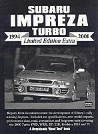 Subaru Impreza Turbo 1994-2001 Limited Edition Extra