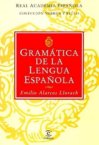 gramatica de la lengua española emilio alarcos pdf