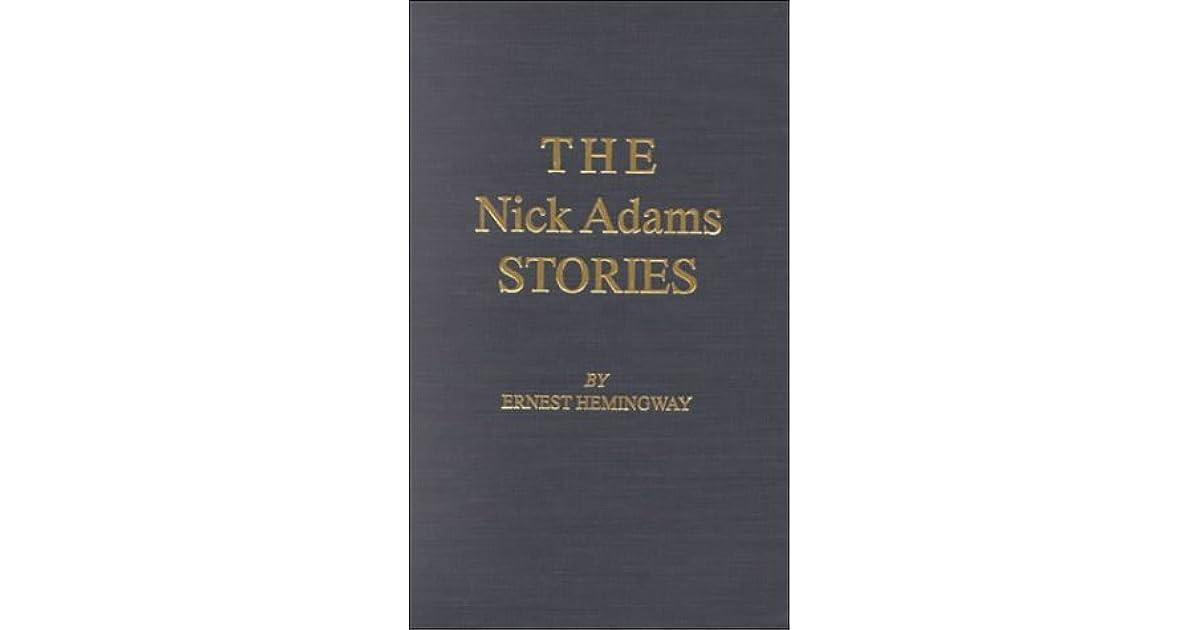 Nick Adams Stories Pdf