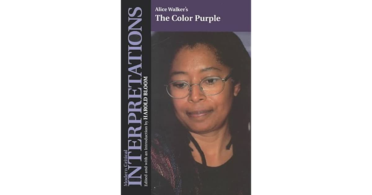 Alice Walkers The Color Purple (Blooms Modern Critical Interpretations)