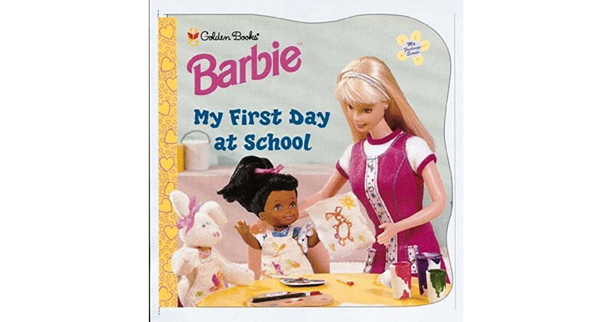 My First Day Of Preschool Barbie Feelings