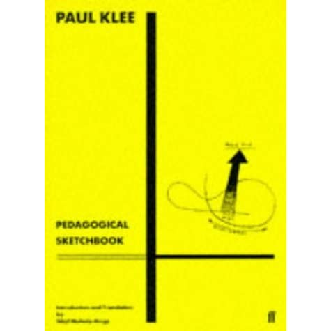 Paul klee pedagogical sketchbook