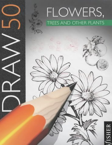 Draw 50 Flowers, Trees, Plants !!