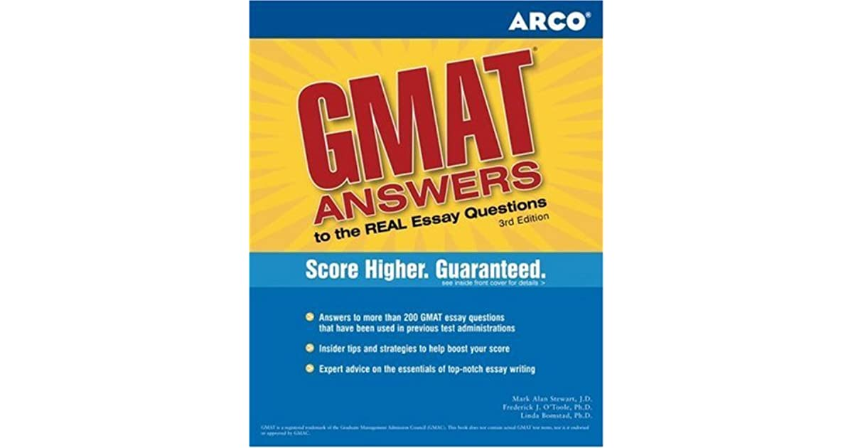 high scoring gmat essays The analytical writing assessment score can be used as a diagnostic tool in recommending or requiring additional instruction in writing.