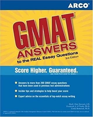GMAT Answers to the Real Essay Questions