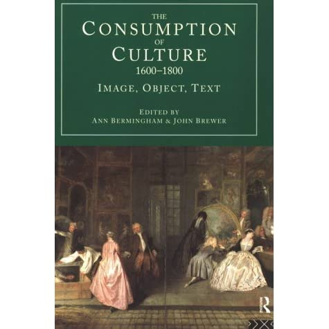the culture of consumption essay