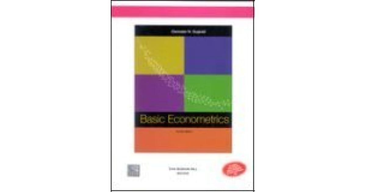 Basic econometrics 4th economy edition by damodar n gujarati fandeluxe Gallery