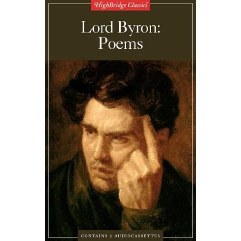 the life of lord george gordon byron and his poem she walks in beauty