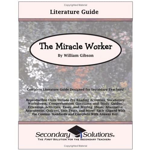 miracle worker essay test