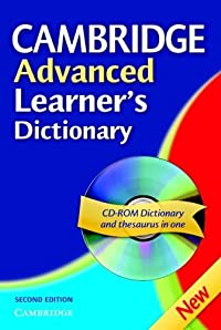 Cambridge Advanced Learner's Dictionary (Book & CD ROM)