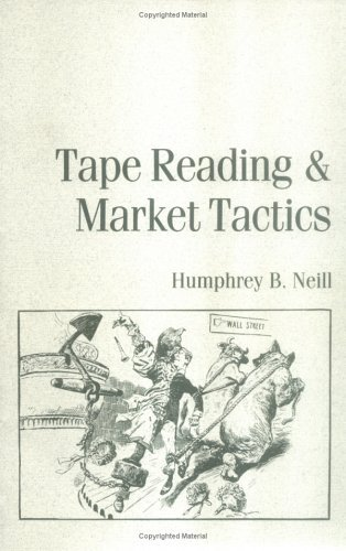 Book cover tape reading and market tactics