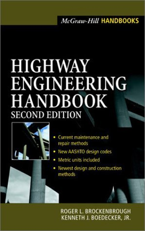 Book cover highway engineering handbook