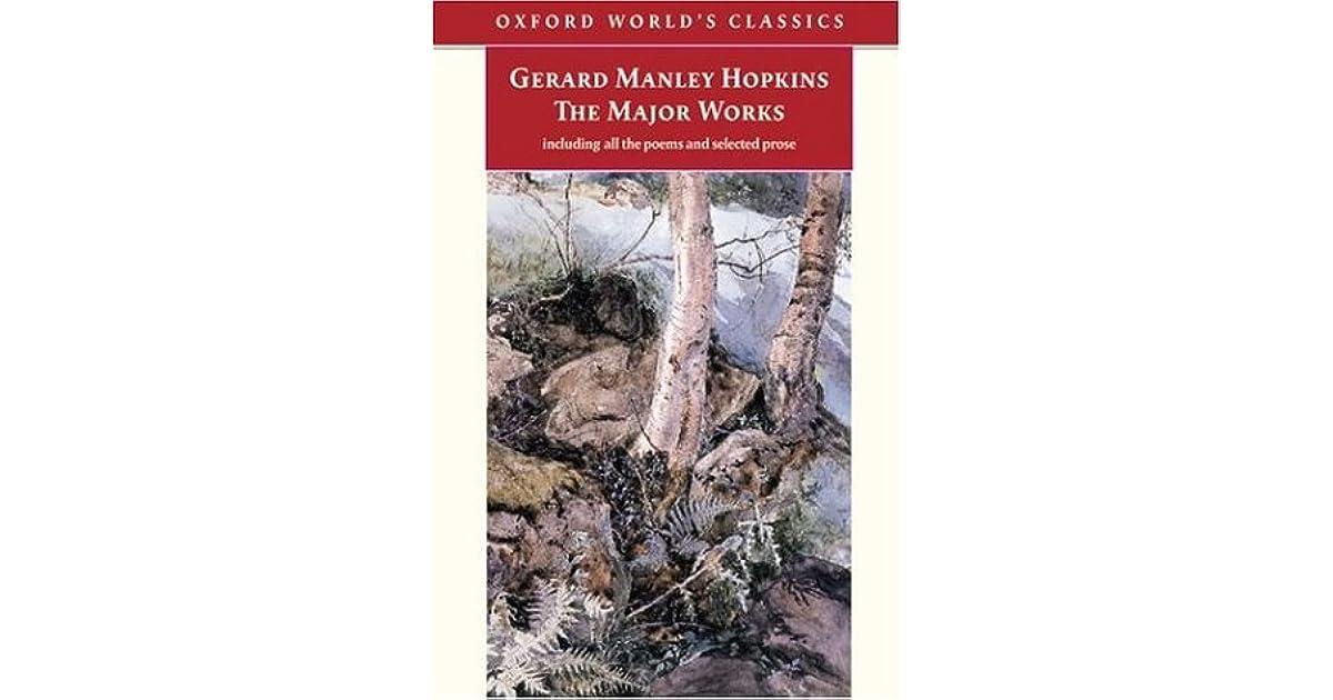 Major World Reviews >> Emily El Cerrito Ca S Review Of Gerard Manley Hopkins